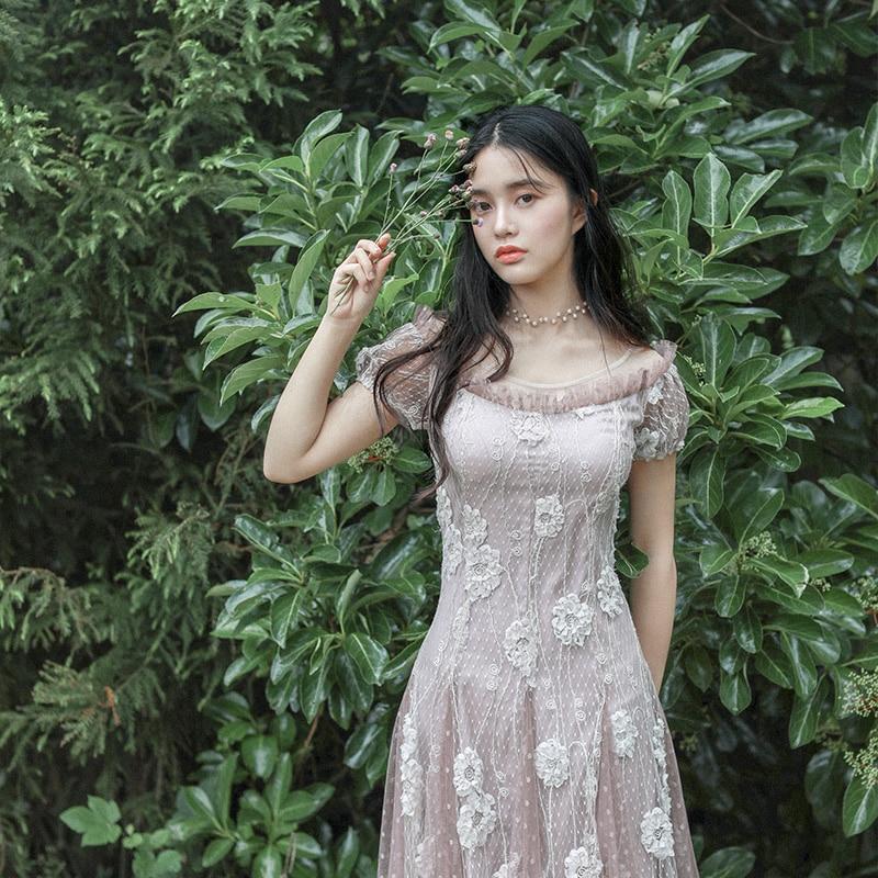 LD LINDA DELLA Summer Fashion Designer Dress Women s Bow Tie Ruffles Floral Printed Side slit