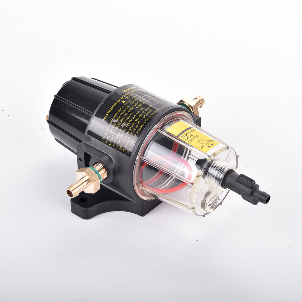 Yacht boat diesel and gasoline engine UF 10K Fuel Filter Water Separator Assembly Clear Bowl All