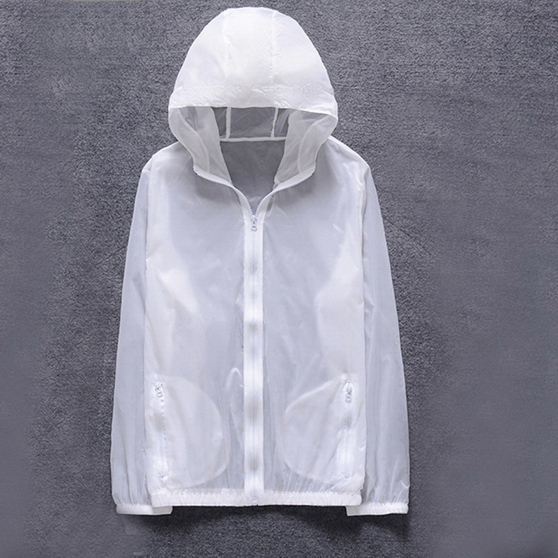 Skin-Jacket Windbreaker Cycling Sun-Protective Quick-Dry Coat Sports Summer New Outdoor