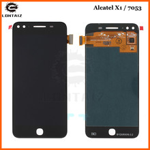 For Alcatel X1 7053 OT7053 LCD Display With Touch Screen Digitizer Assembly alcatel Full lcd