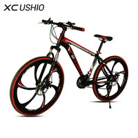 Mountain Bike 21 Speed 26 Inch Bicycle Double Disc Brake One Wheel Variable Speed Bicycle Carbon