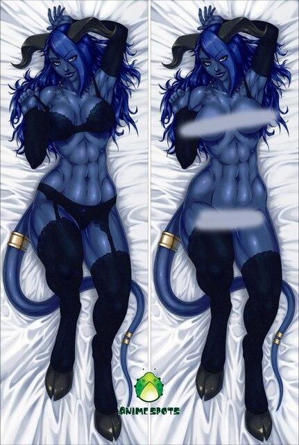 Free Shipping Anime Dakimakura Hugging Pillow Case Sm1055