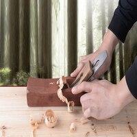 手飛行機木材かんなローズウッド PlaneFlat 木製飛行機底刃物ハンドプレーナ大工木工ツールのための FQ 019 -