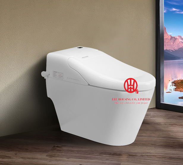 European Smart Heated Toilet Seat Bidet Toilet Seats Intelligent Toilet Bowl Lid Cover Open Cover Automatically When Close