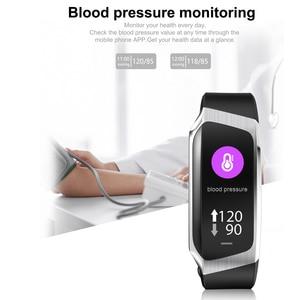 Image 2 - 2020 ديمور KB08 سوار اللياقة الذكي النشاط الفرقة ضغط الدم مراقب معدل ضربات القلب معصمه ل أندرويد الرجال النساء Smartband