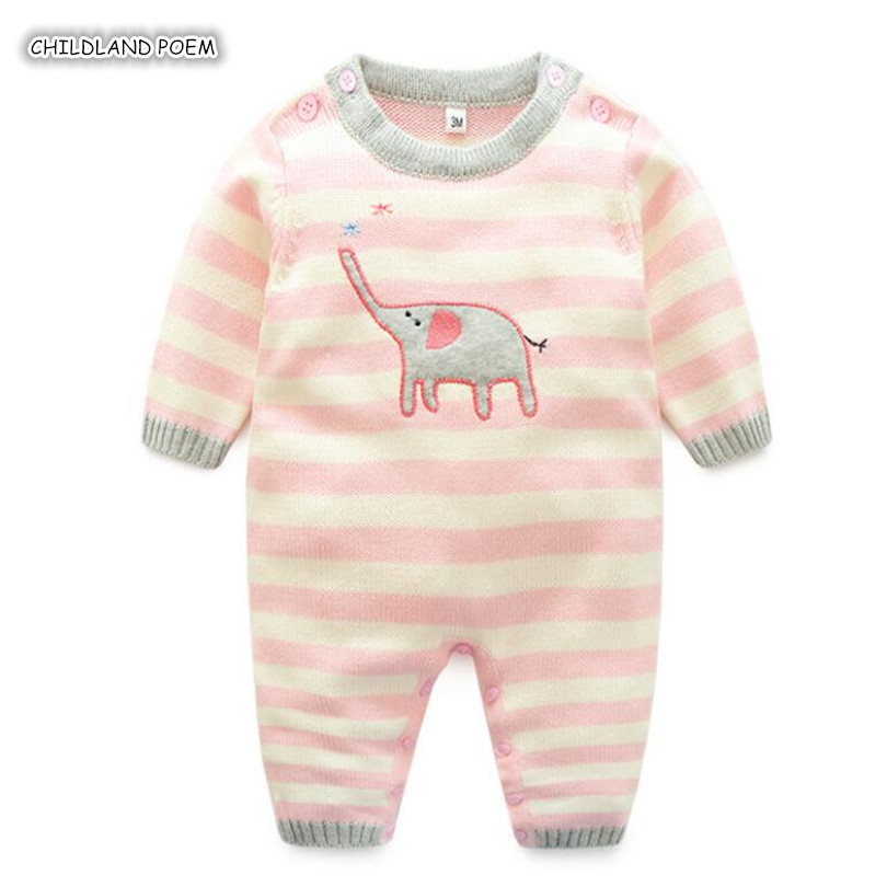 Knitted Baby Clothes 100% Cotton Newborn Baby Rompers Long Sleeve Infant Baby Girls Jumpsuit Spring Baby Girl Romper ClothesKnitted Baby Clothes 100% Cotton Newborn Baby Rompers Long Sleeve Infant Baby Girls Jumpsuit Spring Baby Girl Romper Clothes