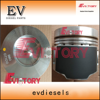 For Mitsubishi engine rebuild S6K S6KT piston + piston ring set