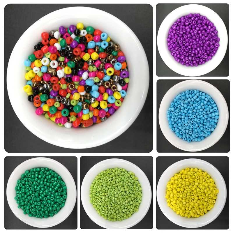 200pcs/lot 3mm Glass Bead Handmade Beautiful Fashion Jewelry Accessories For Necklace Bracelet Wholesale Popular Beads Harmless