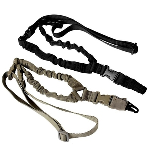 Image 2 - Military Tactical USA One Single Point Toy Gun Sling Rope Adjustable Bungee Rifle Sling Strap System for Airsoft Hunting