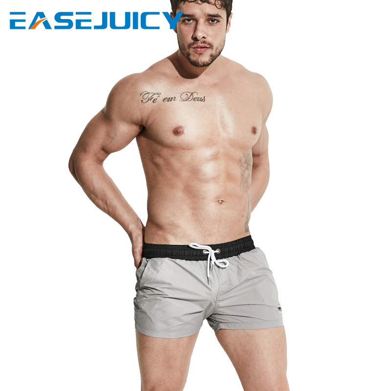 Board     shorts   summer bathing suit for men beach   shorts   swimming suit hawaiian bermudas briefs swimsuit plavky sexy swimwear mesh