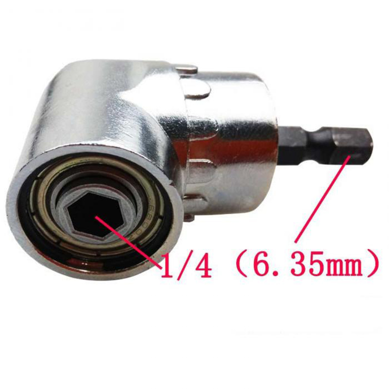 Image 5 - PROSTORMER 1/4 Magnetic Connector 105 Degree Adjustable Angle Drill Driver Screwdriver Hex Shank Power Drill Turning Screwdriver-in Tool Parts from Tools