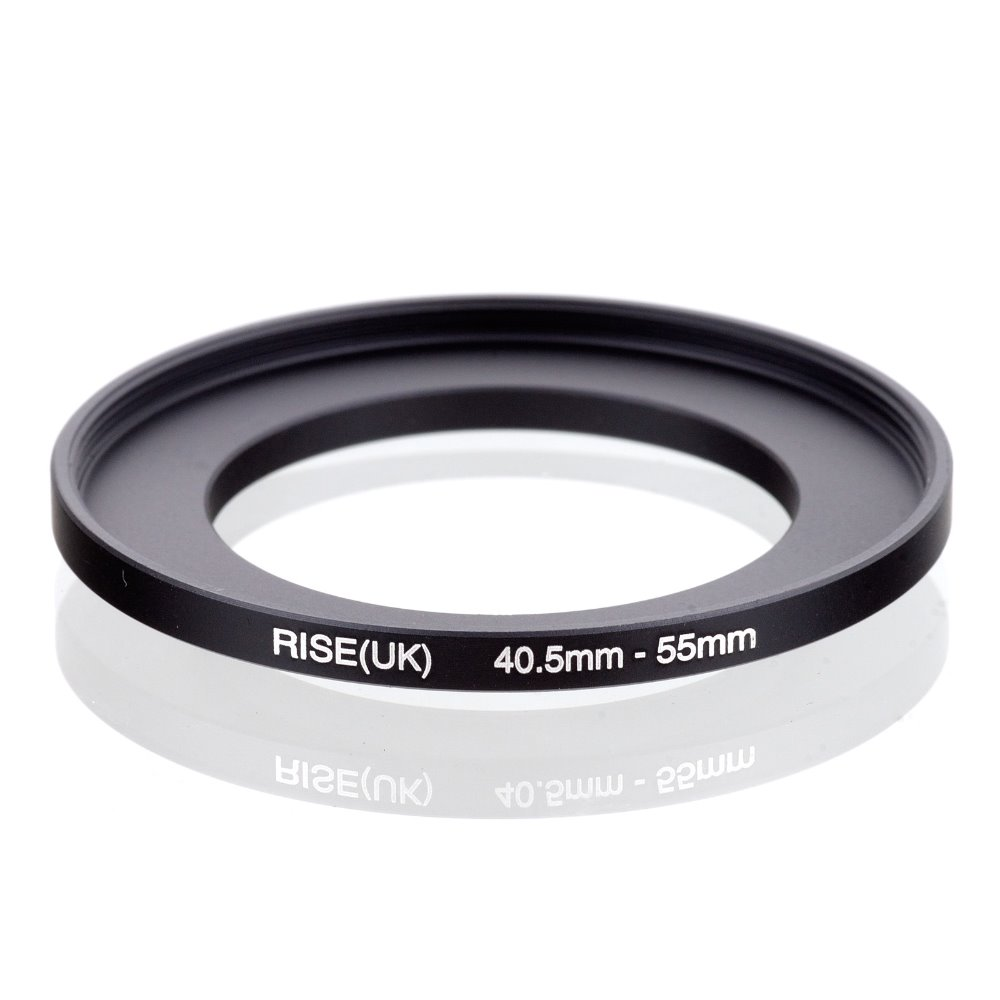 original RISE(UK) 40.5mm-55mm 40.5-55mm 40.5 to 55 Step Up Ring Filter Adapter black free shipping
