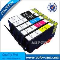5 Pack Ink Cartridge For HP 564XL Black Color PhotoSmart 7510 7520 7525 Printe