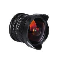 Viltrox 7,5 мм F/2,8 Камера рыбий глаз 180 градусов с многослойным покрытием для sony E крепление A6500 A7 II/M4/3 GH4 GH5/Fuji X T2/Canon M10