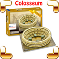 New Year Gift Roman Colosseum 3D Puzzle Arena Puzzle History Building Model Sports Arena DIY Constrution Collection Ancient Toys