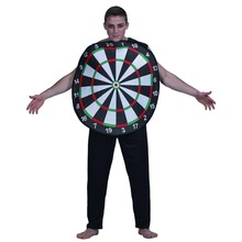fashion original mens halloween costume big round dart board game party cosplay for men adult halloween costumes 2017 - Board Games Halloween Costumes
