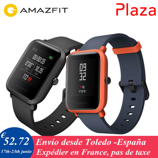 Spanish Version PLAZA Xiaomi Huami Amazfit Bip Youth Men Women GPS Smart Watch Bluetooth 4