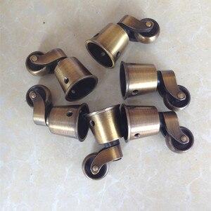 Image 5 - Freies verschiffen runde kupfer Tasse rollen, caster, regal rollen, caster/rad stuhl sofa möbel