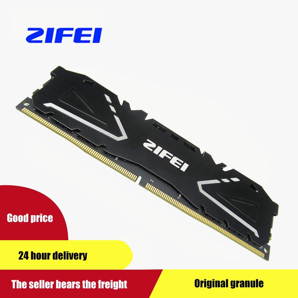 ZIFEI 8 GB 16 GB 2400 MHZ 2666 MHZ DIMM carte mère ordinateur de bureau de mémoire refroidissement FIN DDR4 RAM
