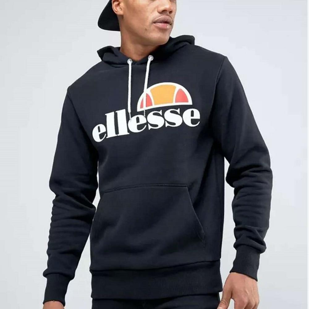 2018 Ellesse Hooded Sweatshirt Graphic Brand Warm Hoody Women And Men's Unisex Sweatshirt