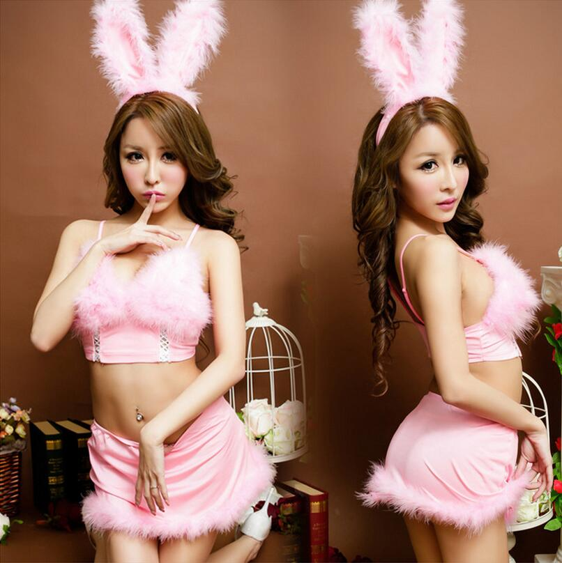 Lenceria Sexy Women Erotic Lingerie For Role playing Games Cosplay Cute Bunny Costume Ladies Sexy Underwear