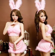 Lenceria Sexy Women Erotic Lingerie For Role-playing Games Cosplay Cute Bunny Costume Ladies Sexy Underwear Sex Products CE459