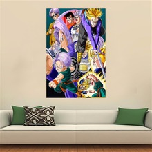 dragon ball Poster Artist Canvas Painting Wall Silk Poster cloth print (28 styles)