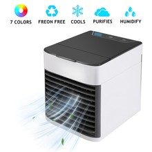 Portable Arctic Air Conditioner Ultra Humidifier Fan Air Purifier Cooler Fan Mini Personal Space Cooler for Office Home Device(China)