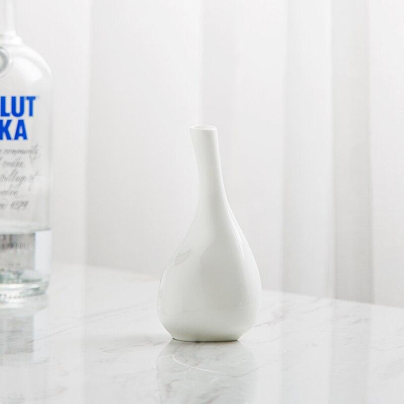 Aliexpress Buy Plain White Bone China Decorative Vase Chinese