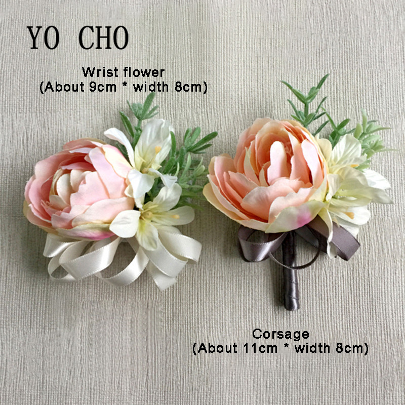 Sporting Yo Cho Delicate Tulip Wrist Flower Bride Corsage Hand Deorative Wristband Bracelet Bridesmaid Wedding Dancing Party Decor Gift Online Shop Health & Beauty
