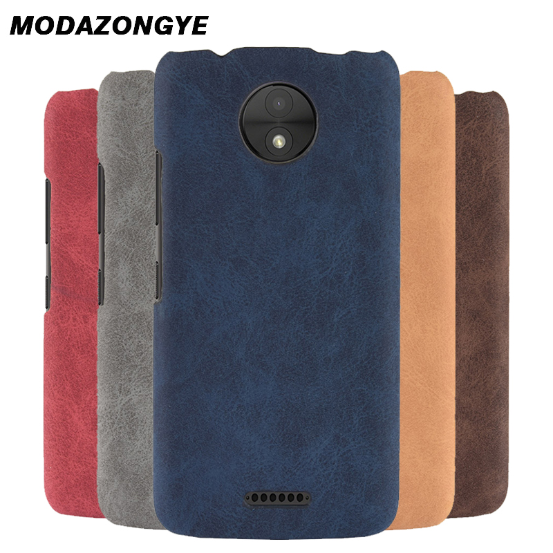 For Motorola Moto C Plus Case MotoC Plus Case 5.0 Back Cover PU Leather Phone Case For Motorola Moto C Plus XT1723 XT1724 Case
