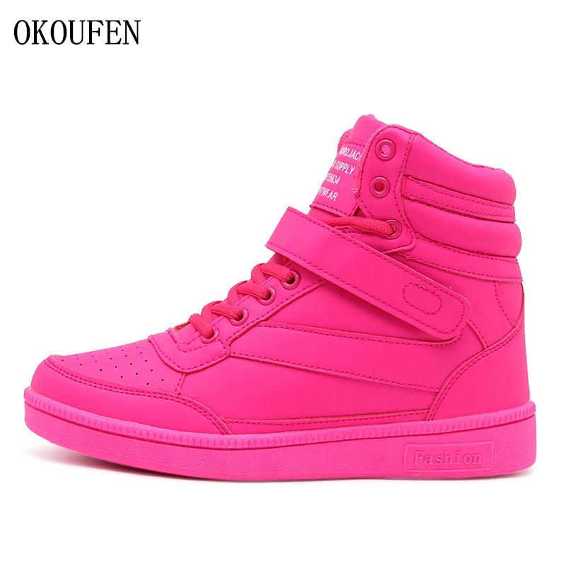 OKOUFEN Winter Shoes Women Sneakers Height Increasing Outdoor Women Sport Shoes Woman Running Shoes Zapatillas Deportivas