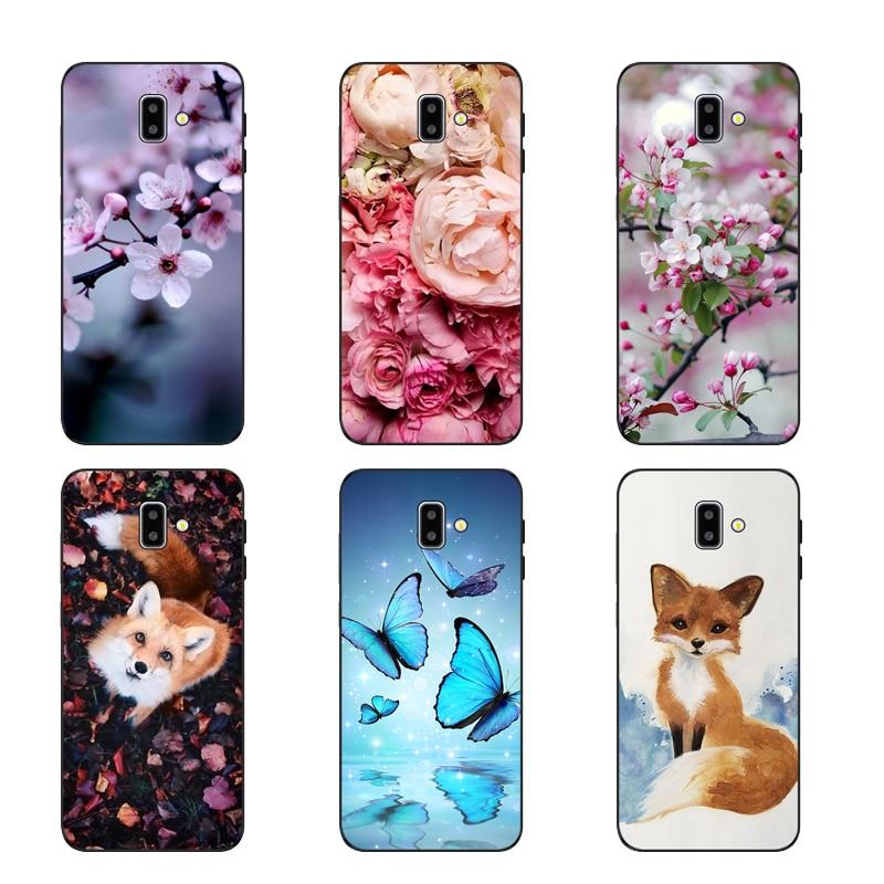 Galaxy J6 Plus J610F Phone case For Funda Samsung Galaxy J6 Plus 2018 J610 Case Silicon Cover for capa Samsung J6 Plus 2018 Case