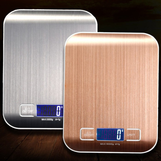 Stainless Steel Scale with LCD Display