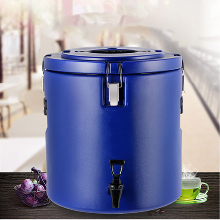 High Quality 10L Stainless Steel Insulation Barrels Sealed Heat Preservation Beverage Bucket car refrigerator with cock
