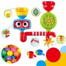 Прекрасный Слишком Детские Игрушки Для Ванной Душ Резиновые Кран Ванна Для Купания Распыления Воды Инструмент Вмешиваются Toyswiming бассейн Дети Детей игрушки
