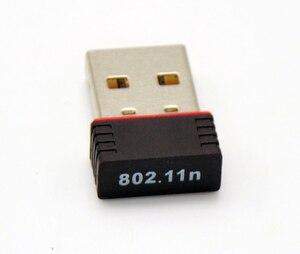 Image 3 - Vente en gros 30 pièces/lot Ralink 5370 150Mbps sans fil Mini WiFi USB adaptateur LAN carte réseau adaptateur pour SKYBOX/Openbox/STB