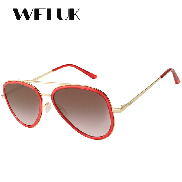 3e4616fd5a WELUK Aviator High Quality Pilot Night Driving Men Sunglasses Polarized Sun  Glass Unisex Women Eyeglasses Brand Designer Shades