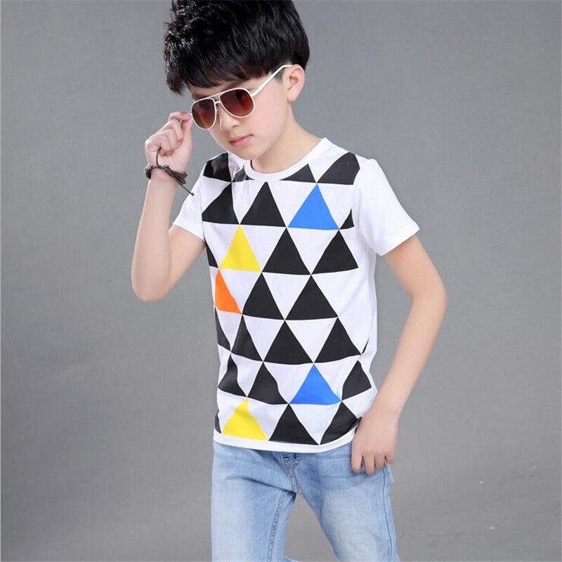 2018 Karstā pārdošana Fashion All-Match Kids Boys Meitenes T-krekli Bērnu Bobo Choses Topi T krekli Meitenes Apģērbi Pusaudžu apģērbi