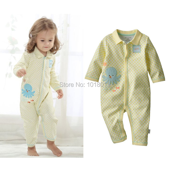 3M~12M, Branded High Quality Cotton Ropa Bebe Newborn Baby Girl Clothing Clothes Creepers Jumpsuit Baby Girls Romper Long Sleeve brand 100% cotton new 2017 ropa bebe newborn baby girls clothing clothes romper creeper jumpsuit short sleeve baby girls rompers