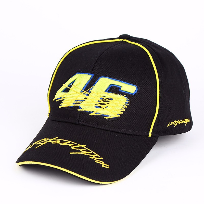2019 Moto Gp 46 Rossi Embroidery Hats For Men Racing   Cap   Motorcycle Racing   Baseball     Caps   Car Sun Snapback Hats Bone Casquette