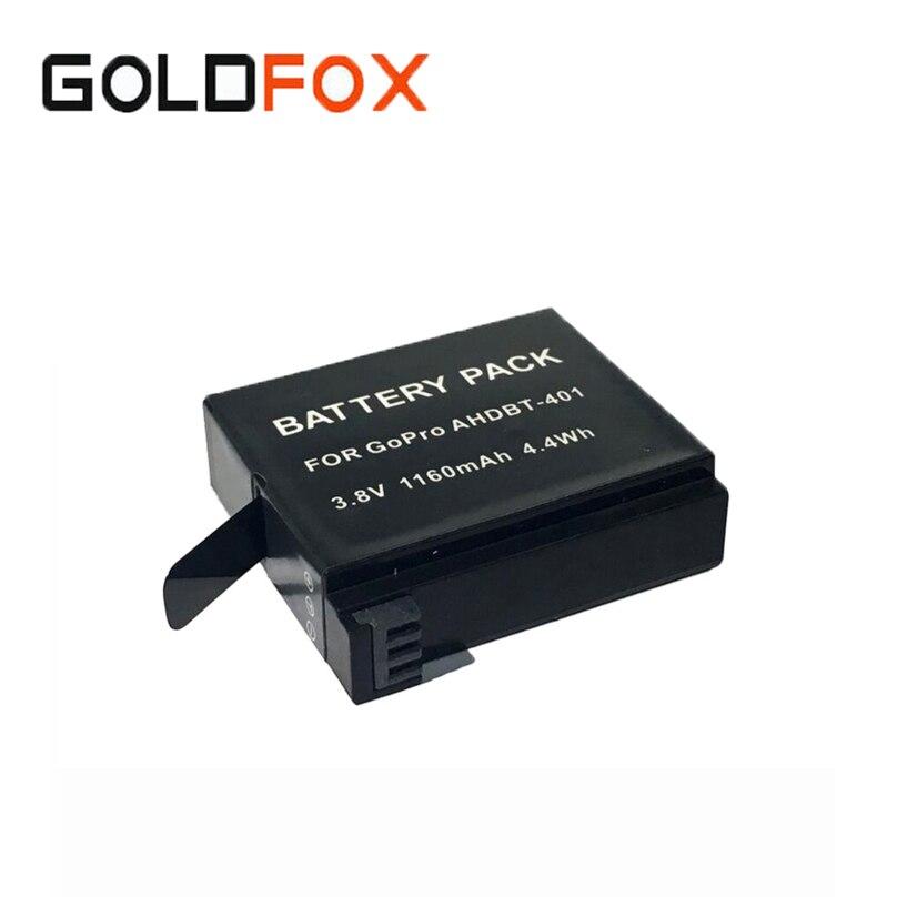 Для <font><b>GoPro</b></font> <font><b>Hero</b></font> <font><b>4</b></font> AHDBT-401 экшн-камеры 1160 мАч Аккумулятор для Go Pro Спорт камеры сменный Аккумулятор Batteria