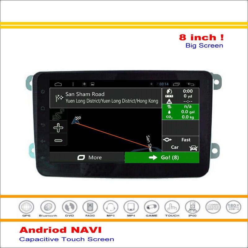 Coche Android Sistema de Navegación GPS de NAVEGACIÓN NAVI Para Skoda Fabia MK2