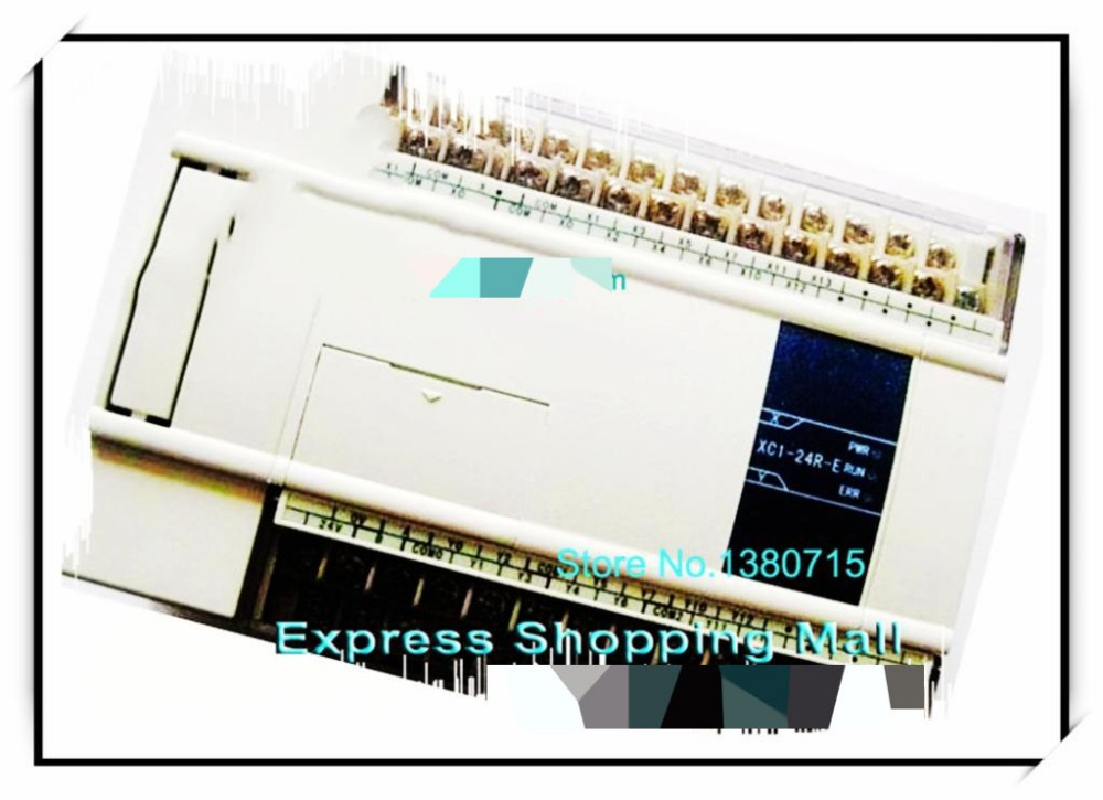 New Original 12point NPN input 12point relay output XC1-24R-C PLC DC24V 2COM new original 36point npn input 24point relay output xc2 60r e plc ac220v