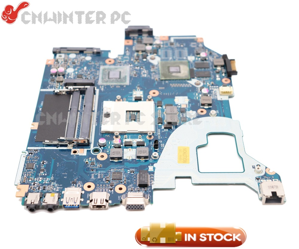 NOKOTION Laptop Motherboard For Acer aspire E1-571G V3-571G V3-571 MAIN BOARD Q5WV1 LA-7912P NBM6B11001 HM77 DDR3 710M 2gb kefu la 7912p motherboard fit for acer aspire e1 571g v3 571g v3 571 motherboard q5wv1 la 7912p hm77 pga989 test