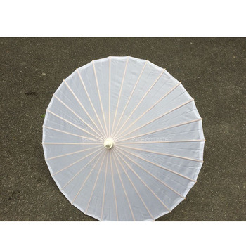 10PCs New white paper parasols wedding umbrella Diameter 23.6 inches
