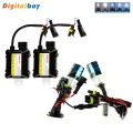 Slim DC 35W HID Ballast Kit H1 Xenon Bulb 35W Lights Kit 4300K 6000K 8000K 10000K for Car Headlight