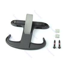 Брюки-карго магистральные сумки Крюк вешалка держатель для Фольксваген Passat Jetta Audi A4 черный