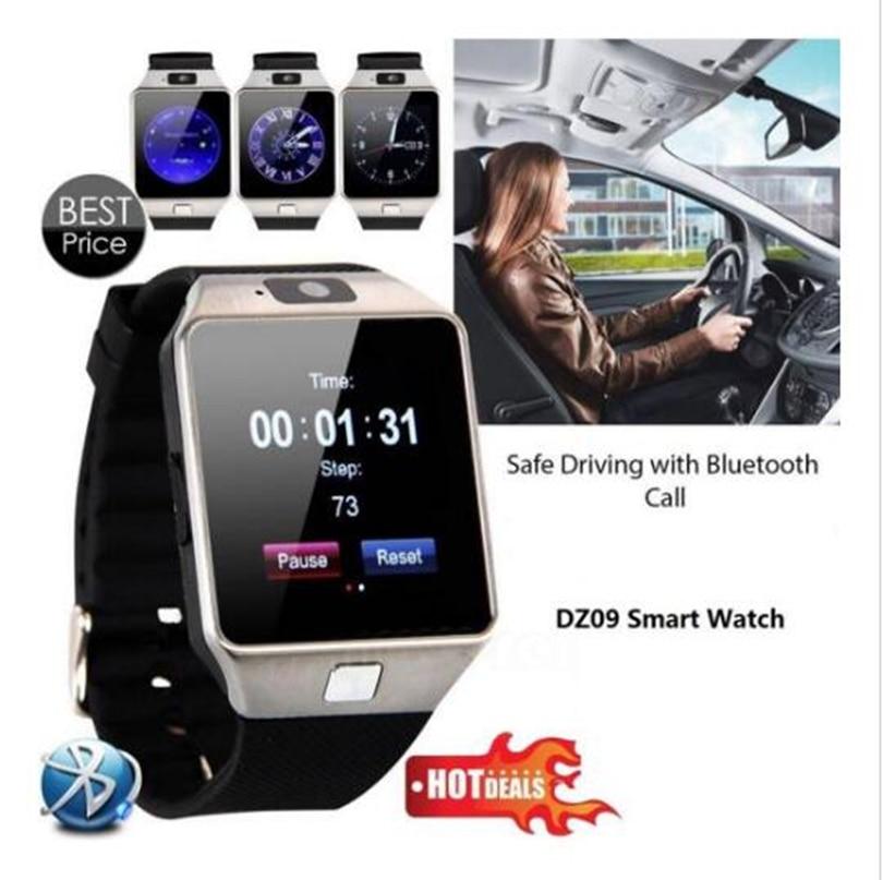 Uus moe nutikell DZ09 koos kaameraga Bluetoothi käepide toetusega Mitmekeelsed kandeseadmed IOS Android-telefonidele