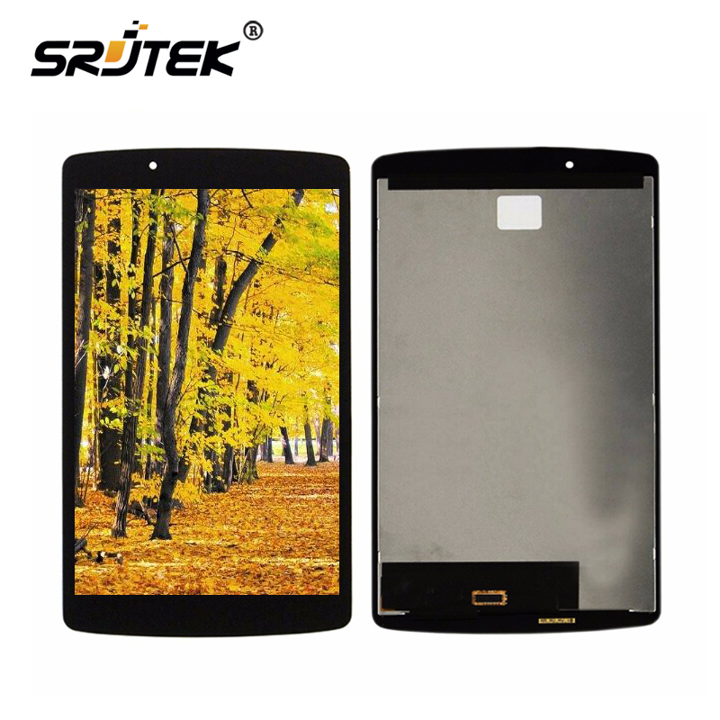 Srjtek 8 For LG G Pad F 8.0 V495 V496 LCD Display Matrix Touch Screen Digitizer Panel Sensor Glass Tablet Assembly Replacement new 8 inch case for lg g pad f 8 0 v480 v490 digitizer touch screen panel replacement parts tablet pc part free shipping